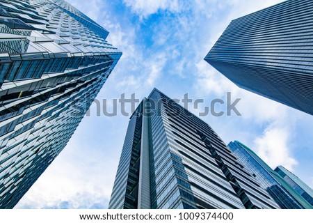 Modern office buildings #1009374400
