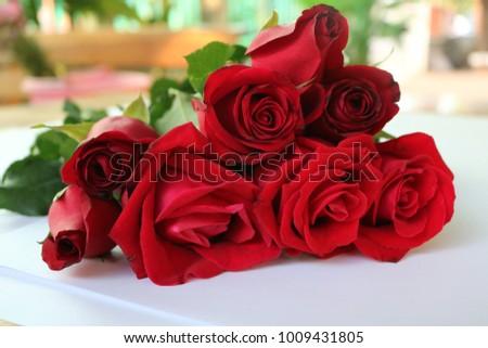 Red Roses Valentine's Day #1009431805