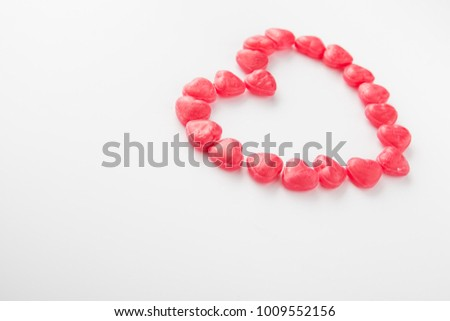 valentine's day candy heart #1009552156