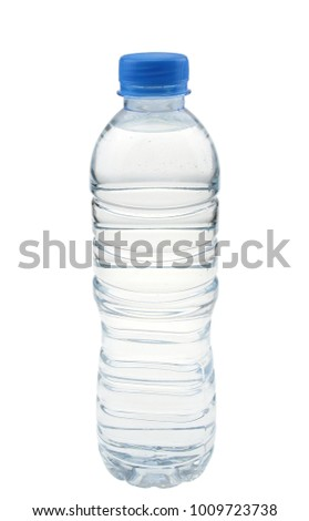Water bottle isolated on white background. #1009723738