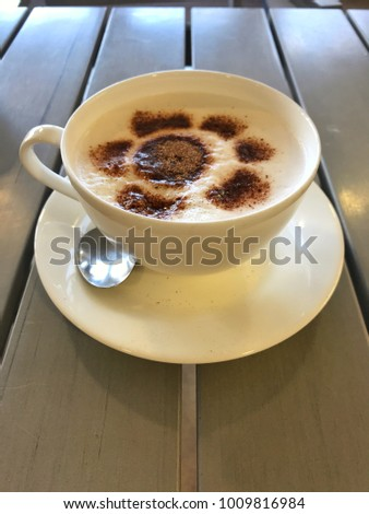 It's Cappuccino Time #1009816984