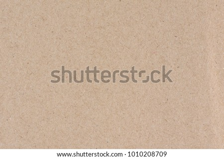 Sheet of brown paper useful as a background #1010208709