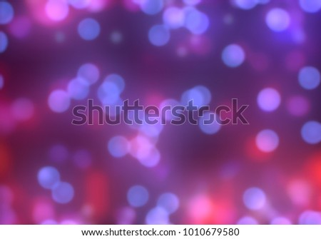 Bokeh abstract texture. Colorful. Defocused background. Blurred bright light. Circular points. #1010679580