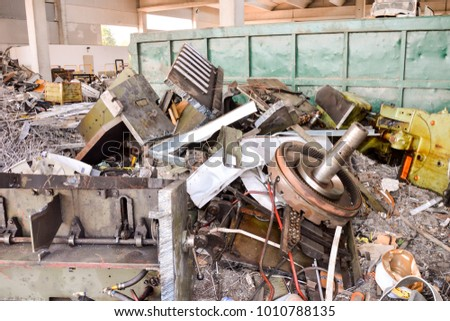 Metal Ready for Recycling #1010788135