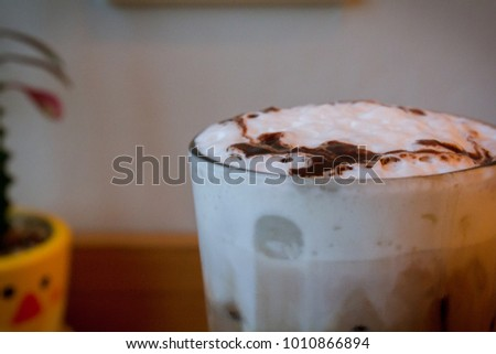 Water cocoa drink #1010866894