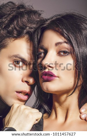 Portrait of a guy and a girl #1011457627