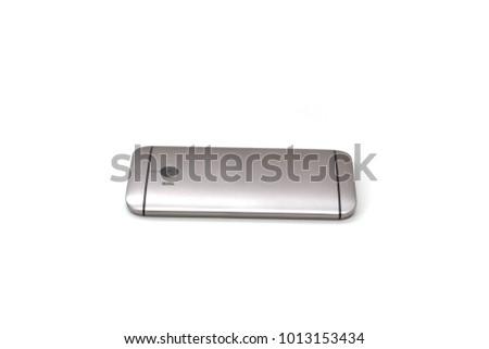 Modern phone on a white background #1013153434
