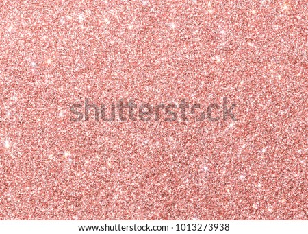 Rose gold pink red glitter background sparkling shiny wrapping paper texture for Christmas holiday seasonal wallpaper decoration, Valentines greeting and wedding invitation card design element Royalty-Free Stock Photo #1013273938