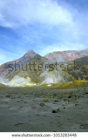 Active marine volcano #1013283448