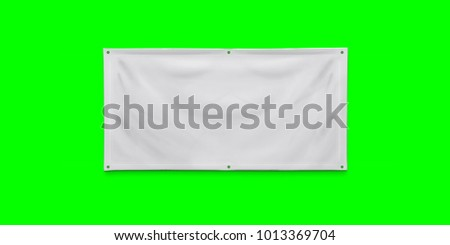 PVC advertising banner with eyelets #1013369704