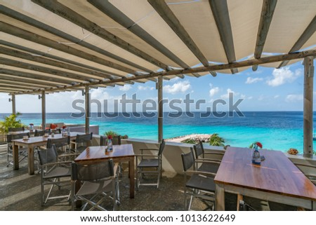 By the beach    Views around the small Caribbean island of Curacao #1013622649