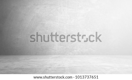 cement floor and wall backgrounds, room, interior, display products. Royalty-Free Stock Photo #1013737651