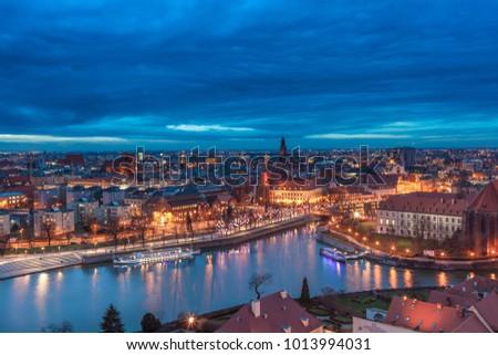 Poland city Wroclaw #1013994031