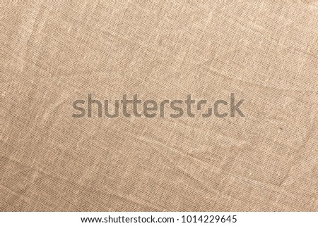 Texture brown canvas fabric as background #1014229645