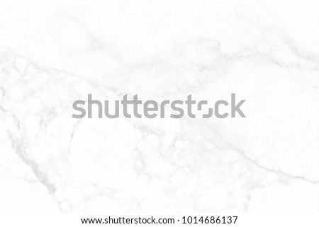 White marble texture in natural pattern with high resolution for background and design art work. White stone floor. #1014686137