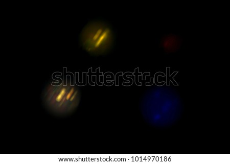 Magic colors of Christmas atmosphere shining into the space  #1014970186