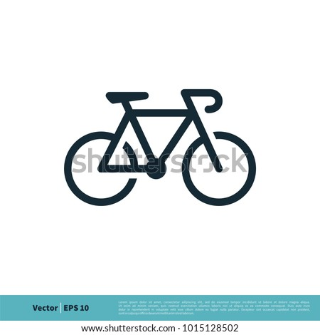 Bike Icon Vector Logo Template Illustration Design. Vector EPS 10.