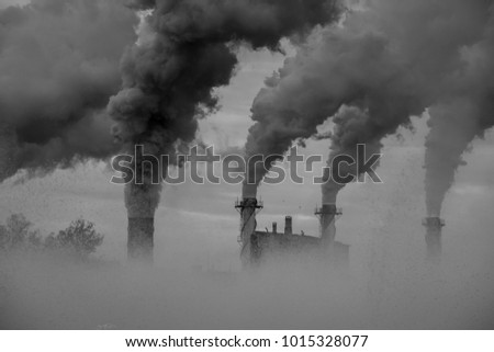 air pollution of industry #1015328077