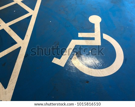 The disability sign #1015816510