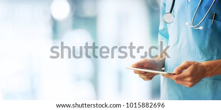 Healthcare And Medicine concept. Doctor Royalty-Free Stock Photo #1015882696