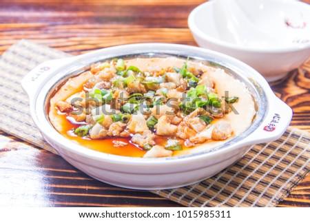 steamed egg cuisine #1015985311