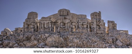 Mount Nemrut - UNESCO World Heritage site in southeastern Turkey #1016269327