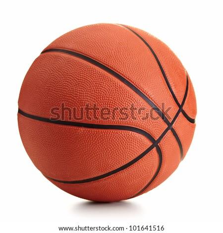 Basketball ball over white background #101641516