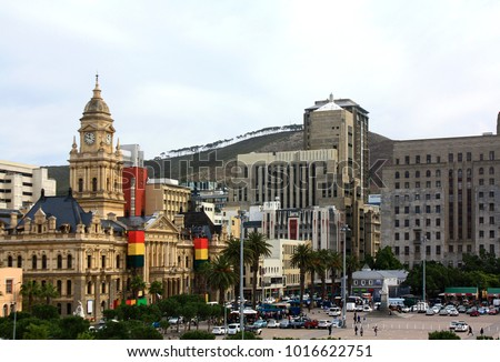 Cape Town city center, SAR #1016622751