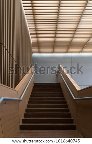 architecture wood design #1016640745