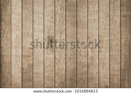Old wood texture and wood background, Floor surface. #1016884813
