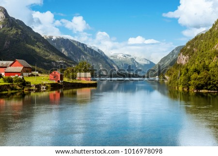 Odda is a town in Hardanger district in Norway. Located near Trolltunga rock attraction