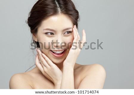 Beautiful Girl Face #101714074