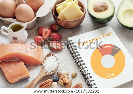 Keto, ketogenic diet, low carb, high good fat ,  healthy food #1017382282