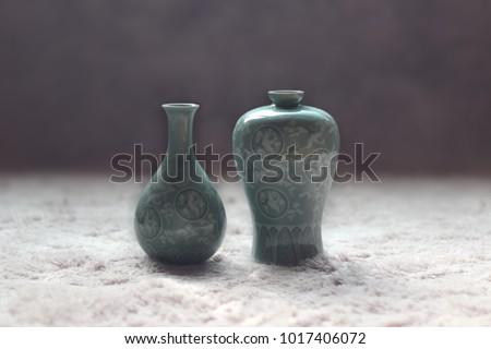 AN imitation of Goryeo celadon  #1017406072