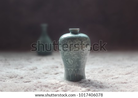 AN imitation of Goryeo celadon  #1017406078