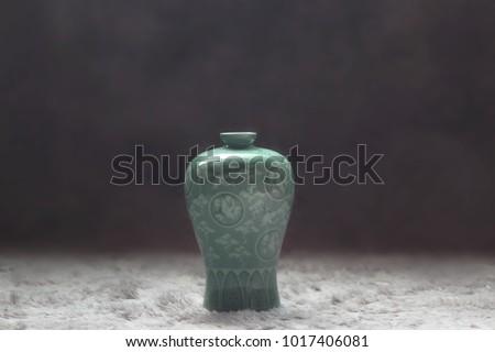 AN imitation of Goryeo celadon  #1017406081