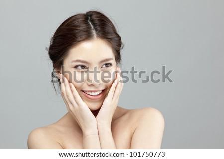 Beautiful Girl Face #101750773