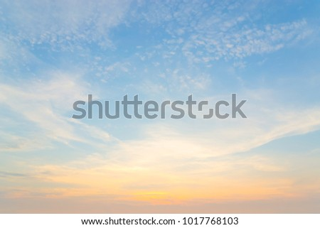 Bright colors at dawn on the beach at sunrise in the Gulf of Thailand #1017768103
