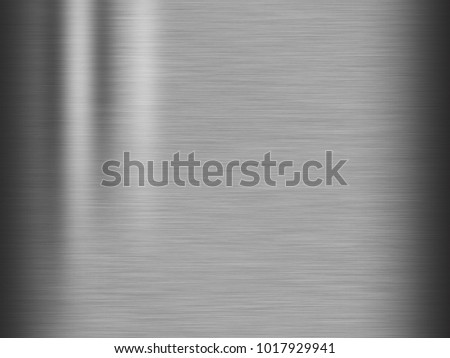 Metal stainless steel texture background #1017929941