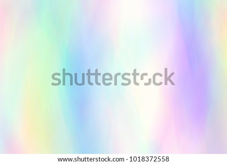 Very beautiful  Iridescent texture. Holographic Foil. Wonderful magic background. Colorful wallpaper. Rainbow card. Trendy art. Fantasy wallpaper #1018372558