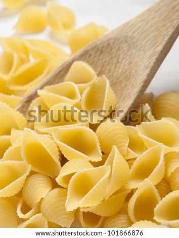 pasta shells white background #101866876