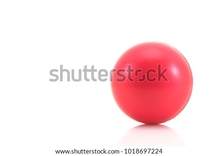 stress ball on white background #1018697224