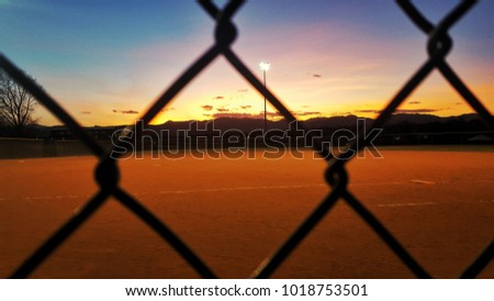 Sunsets and Softball