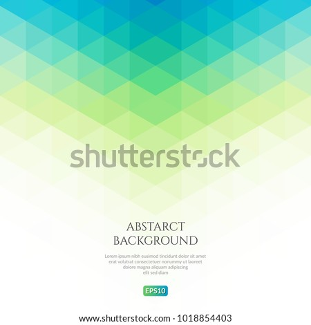 Abstract background with a pattern of triangles. Space for text. Royalty-Free Stock Photo #1018854403