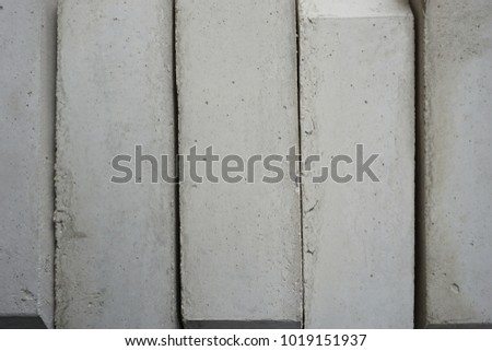 stack of concrete blocks texture for background used #1019151937