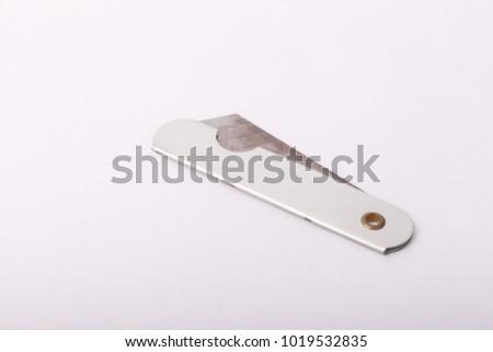 penknife isolated on white background #1019532835