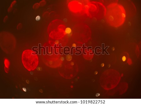 Bokeh abstract texture. Colorful. Defocused background. Blurred bright light. Circular points. #1019822752