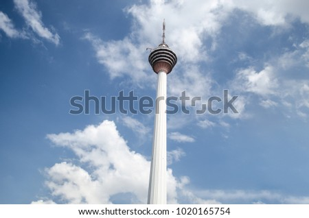 A close look on Kuala Lumpur famous tower #1020165754