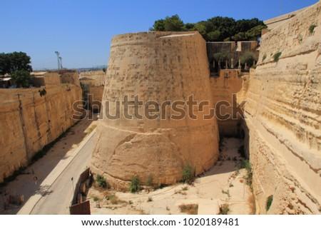 St. John Bastion, Valletta, Malta #1020189481