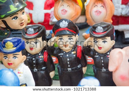 Statue of Police  , Police Doll, Soldier doll